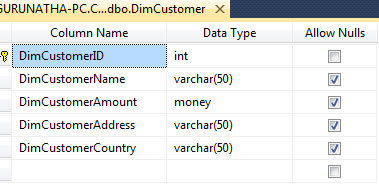 Insert and Update Data Table using Merge Join in SSIS with an