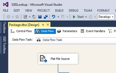 SSIS Lookup Transformation with example step by step : Learn MSBI