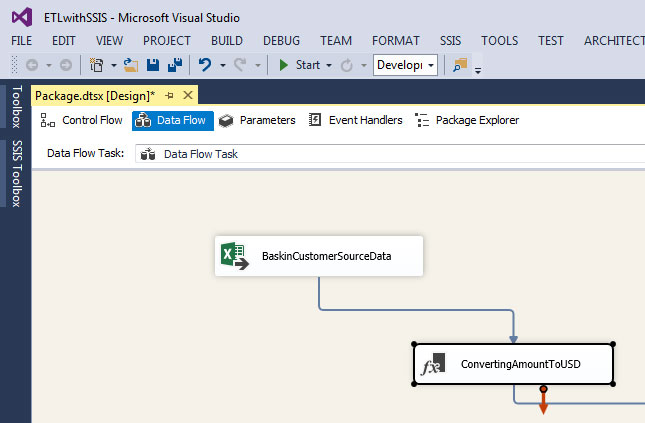Understand ETL Process using SSIS with an example : Learn MSBI Tutorials