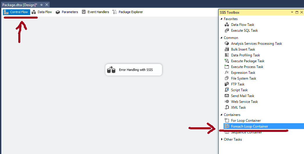 foreach loop container in ssis using example step by step learn